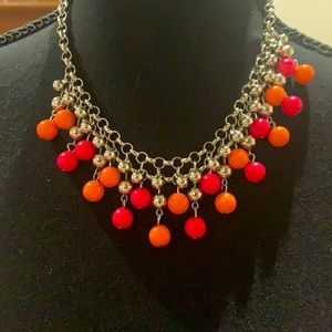 Beaded Summer Necklace with Matching Earrings!
